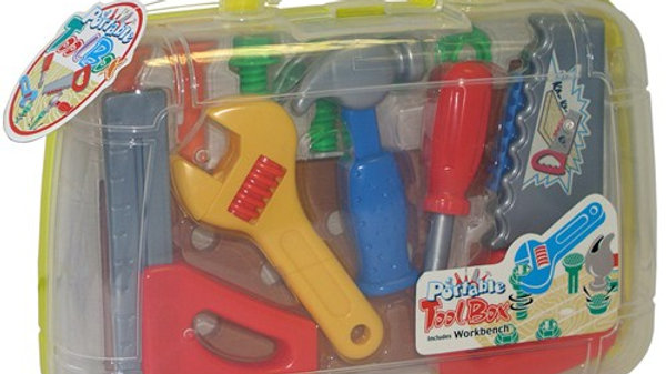 Peterkin Toy Play Tools in carry case