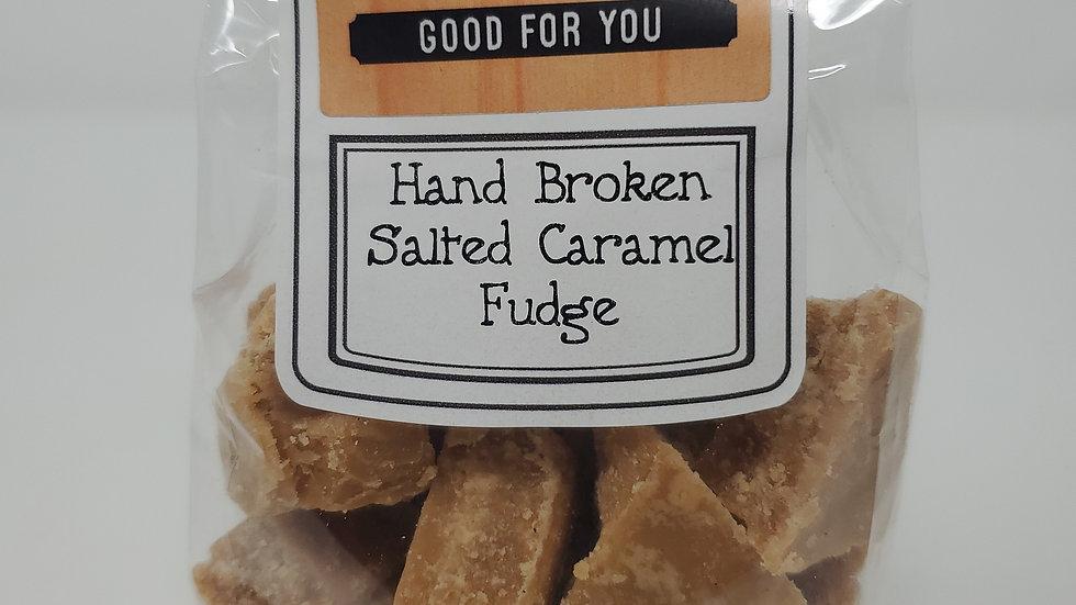 Country Market Broken Salted Caramel Fudge Bag 150g