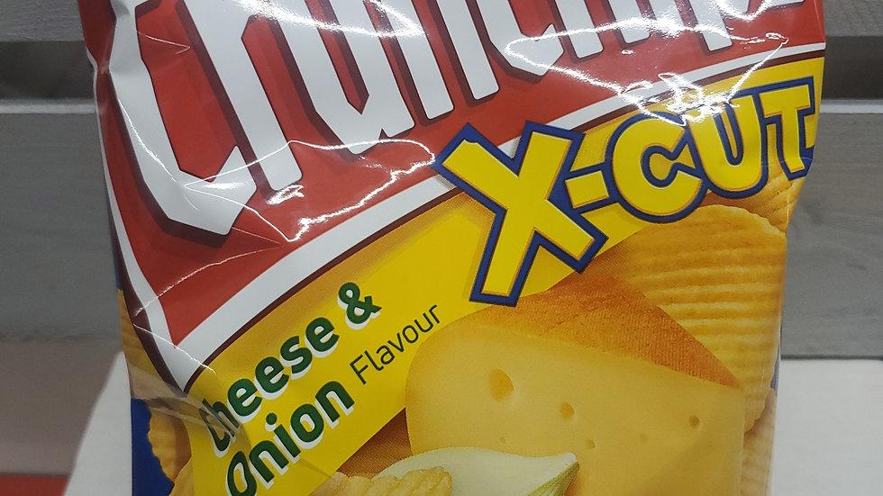 Lorenz X-Cut Crunchips Cheese & Onion Flavour 85g