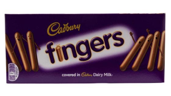 Cadburys Chocolate Fingers 114g