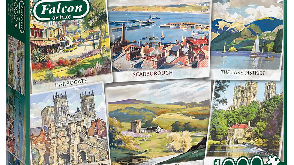 "Falcon de luxe Jigsaw Puzzle ""The Beautiful North"" 1000 piece"