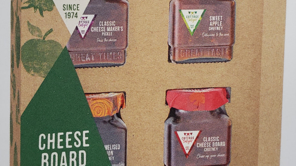 Cottage Delight Cheese Board Delights Gift Pack