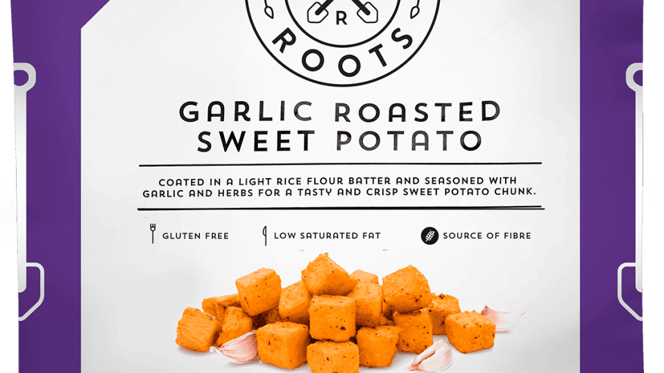 Strong Roots Garlic Roasted Sweet Potato 500g