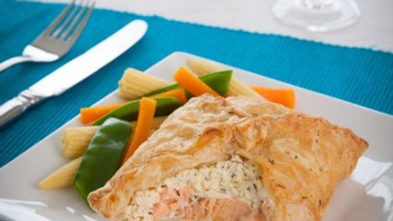 Fieldfare Salmon en Croute 1 Portion 232g