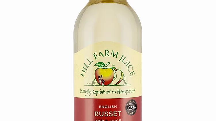 Hill Farm Russet Apple Juice 75cl