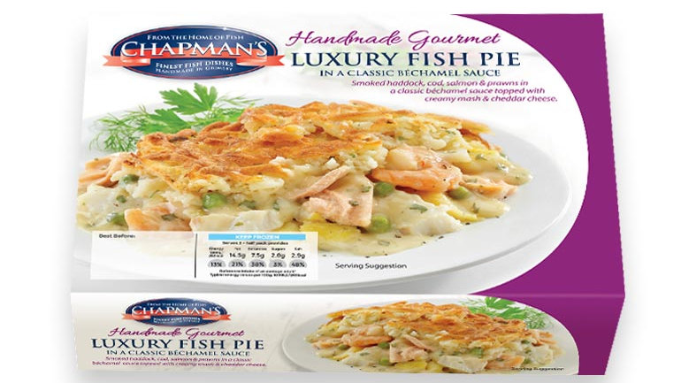 Chapman Luxury Fish Pie 400g