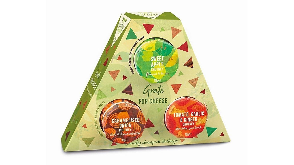 Cottage Delight Grate for Cheese Trio Gift Pack