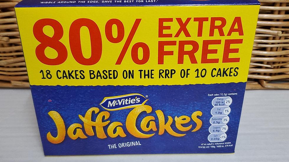 McVities Jaffa Cakes 18s