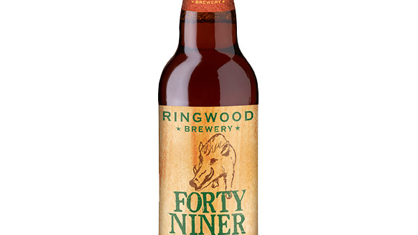 Ringwood Brewery Forty Niner 4.9% ABV 500ml