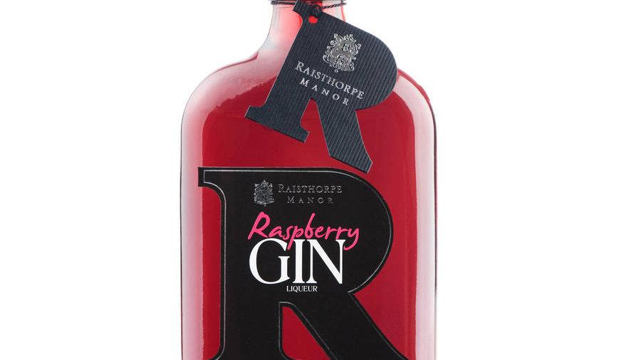 Raisthorpe Manor Raspberry Liqueur Gin 18% Vol 35cl
