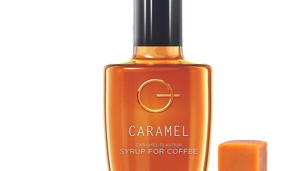 Quarterpast Caramel Syrup for Coffee 250g