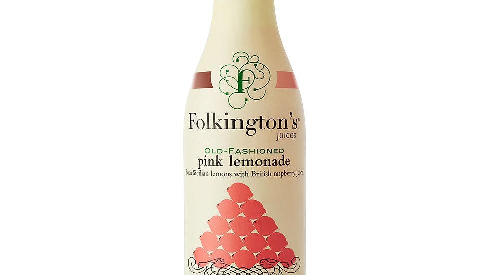 Folkingtons Old Fashioned Pink Lemonade 1lt