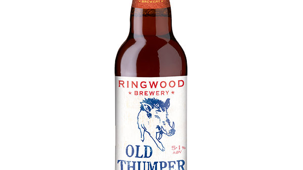 Ringwood Brewery Old Thumper Bottle 5.1% ABV 500ml