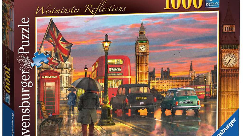Ravensburger Jigsaw Puzzle 1000 Piece - Westminster Reflections