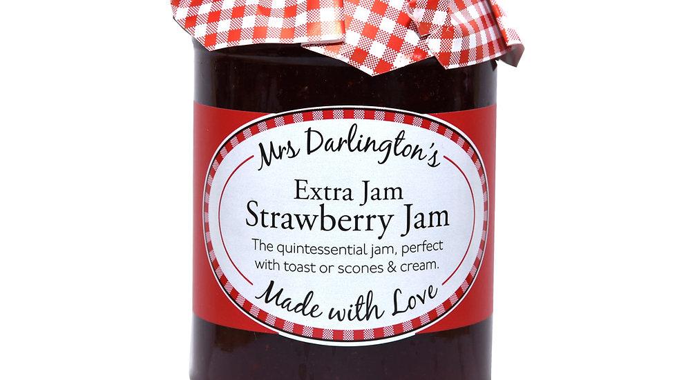Mrs Darlingtons Extra Strawberry Jam 340g