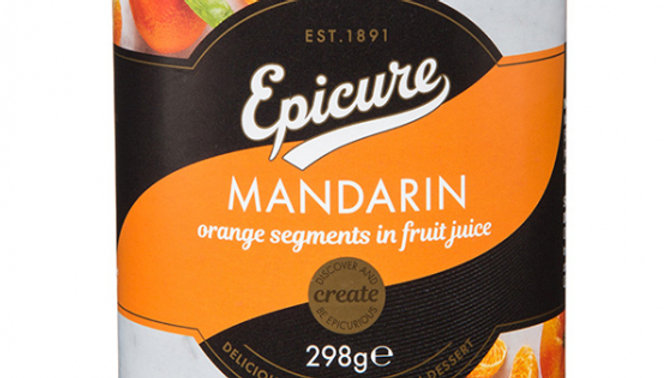 Epicure Mandarin Orange Segments in Juice 312g