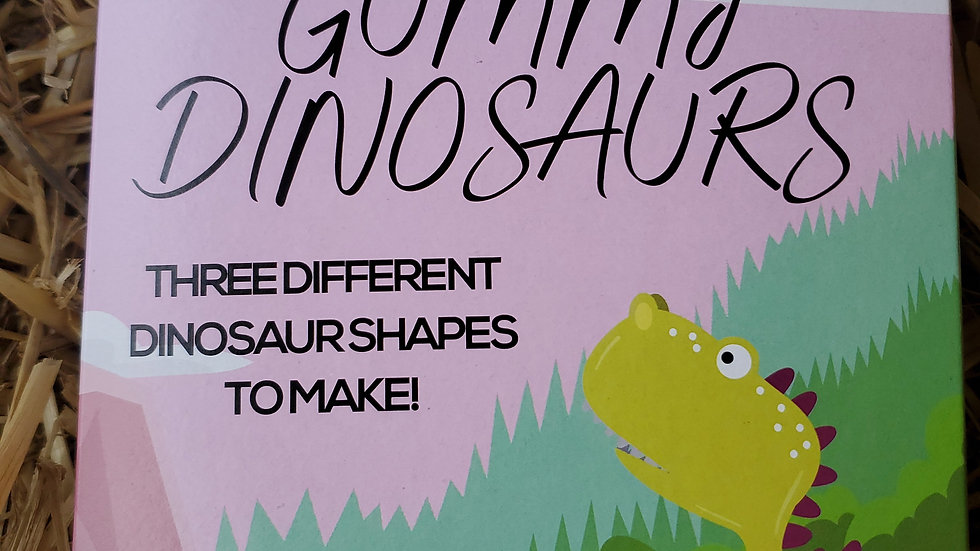 Make Your Own Gummy Dinosaurs Kit 180g