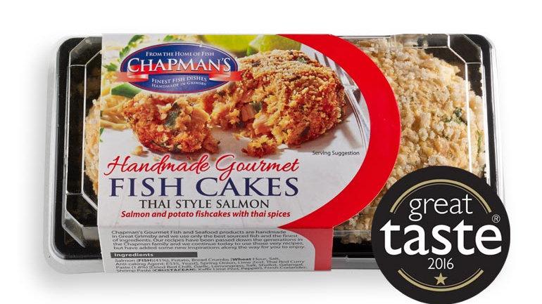 Chapman Thai Style Salmon Fishcakes