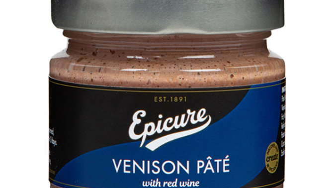 Epicure Venison Pate with Red Wine 170g