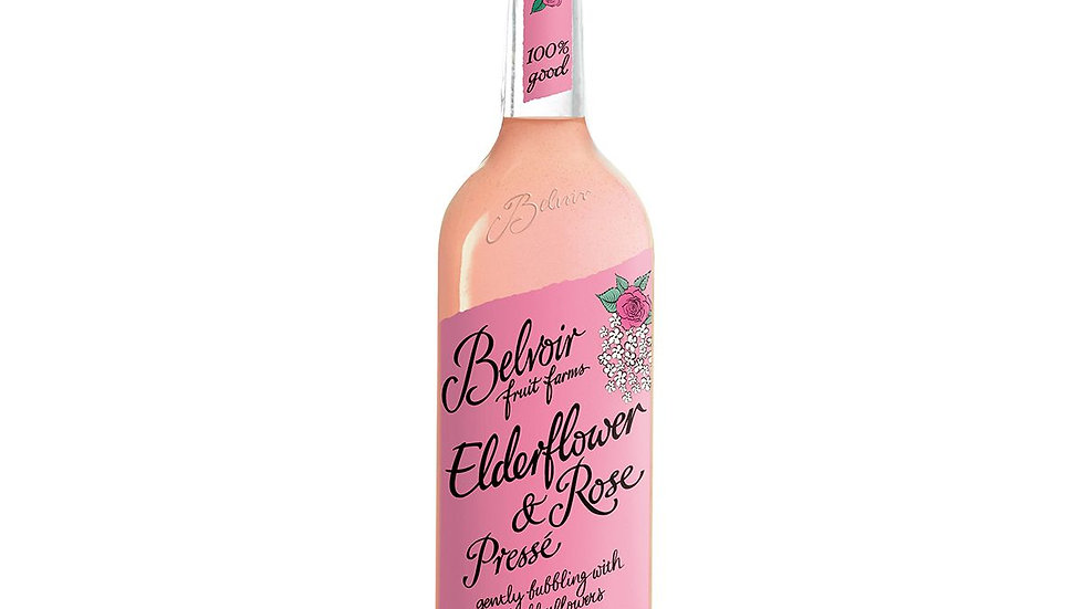 Belvoir Elderflower & Rose Presse 75cl
