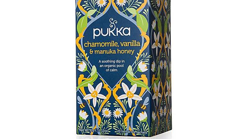 Pukka Tea Organic Chamomile, Vanilla & Manuka Honey (20s)