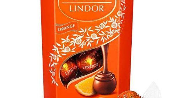 Lindt Lindor Milk Orange Chocolate 200g