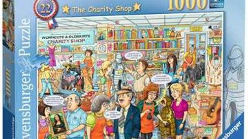 Ravensburger Jigsaw Puzzle 1000 Piece - Charity Shop N22