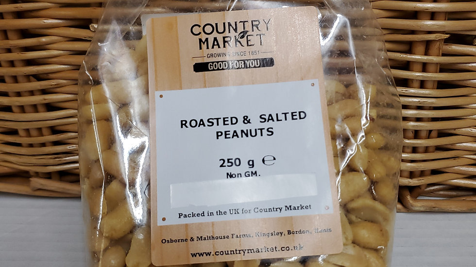 Country Market Roasted & Salted Peanuts 250g