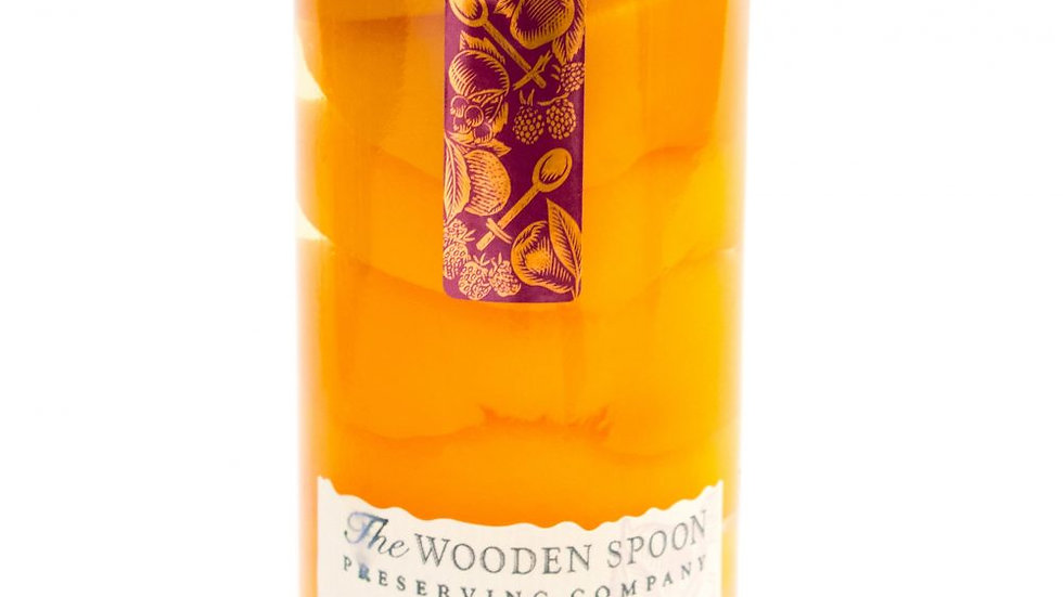 Wooden Spoon Peaches with Brandy 475g