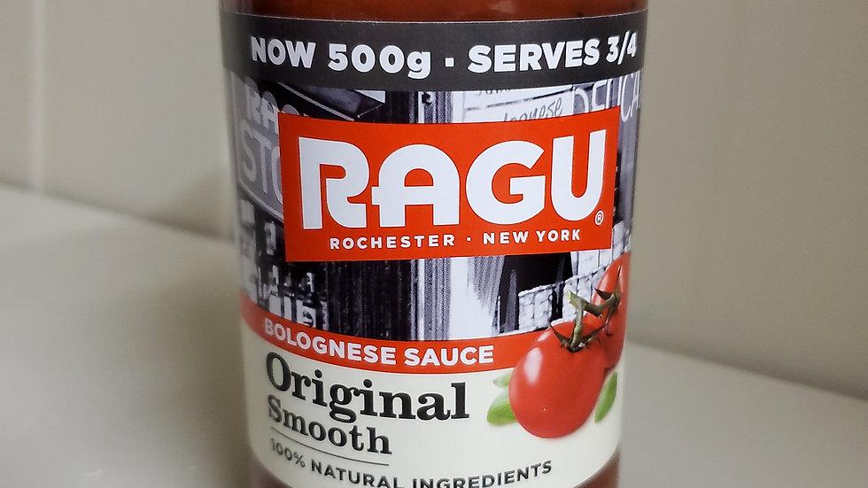 Ragu Original Smooth Bolognese Sauce 500g