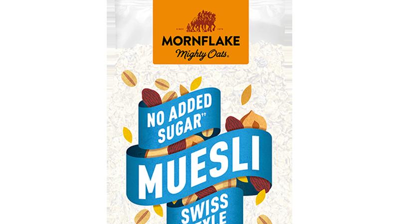 Mornflake No added Salt or Sugar Swiss Muesli 1kg
