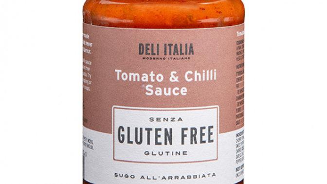 Deli Italia Gluten Free Tomato & Chilli Sauce 350g