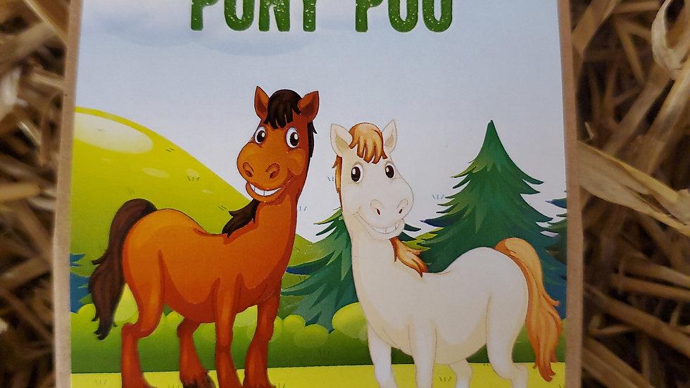 Chocolate Covered Hampshire Pony Poo 100g
