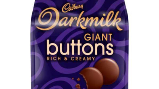 Cadbury Darkmilk Giant Buttons 90g