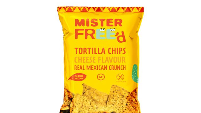 Mister Freed Tortilla Chips Cheese Flavour