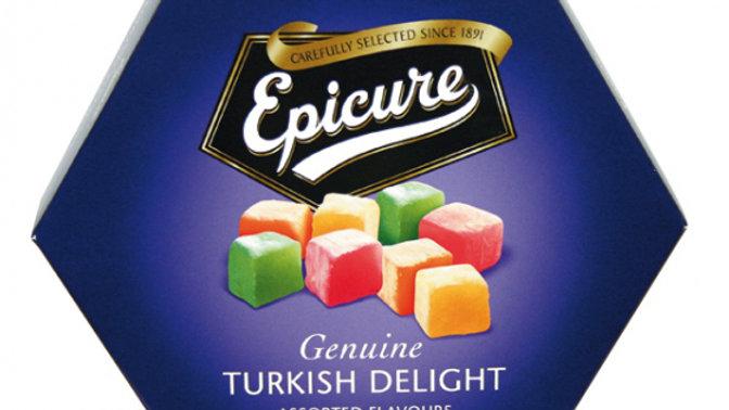Epicure Assorted Flavour Turkish Delight 325g