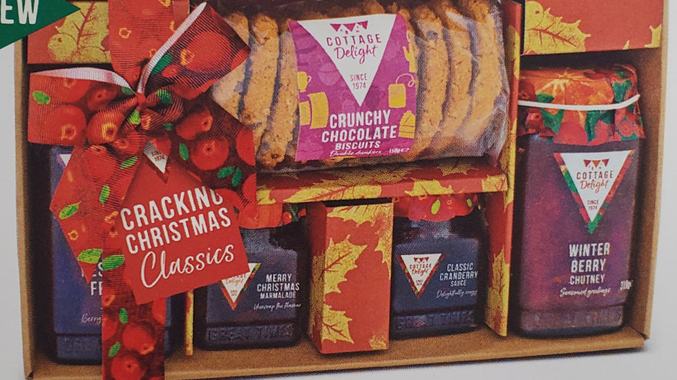 Cottage Delight Cracking Christmas Classics Gift Hamper