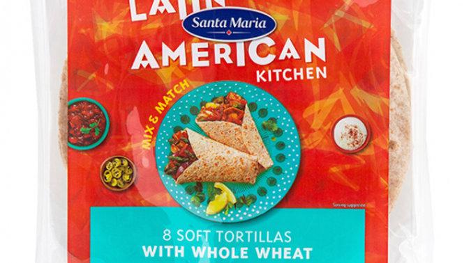 Santa Maria Soft Tortilla Wrap with Wholewheat (8)