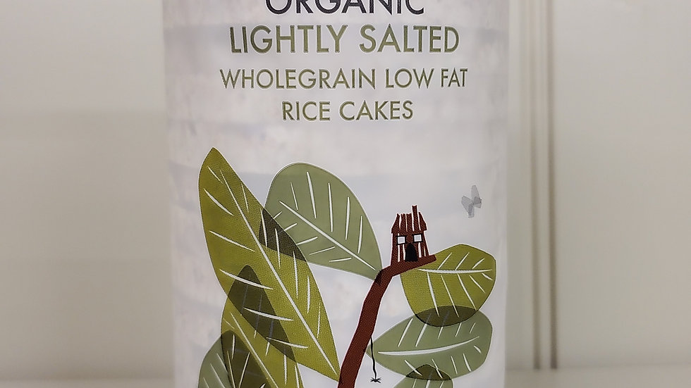 Kallo Organic Salted Wholegrain Rice Cakes 130g