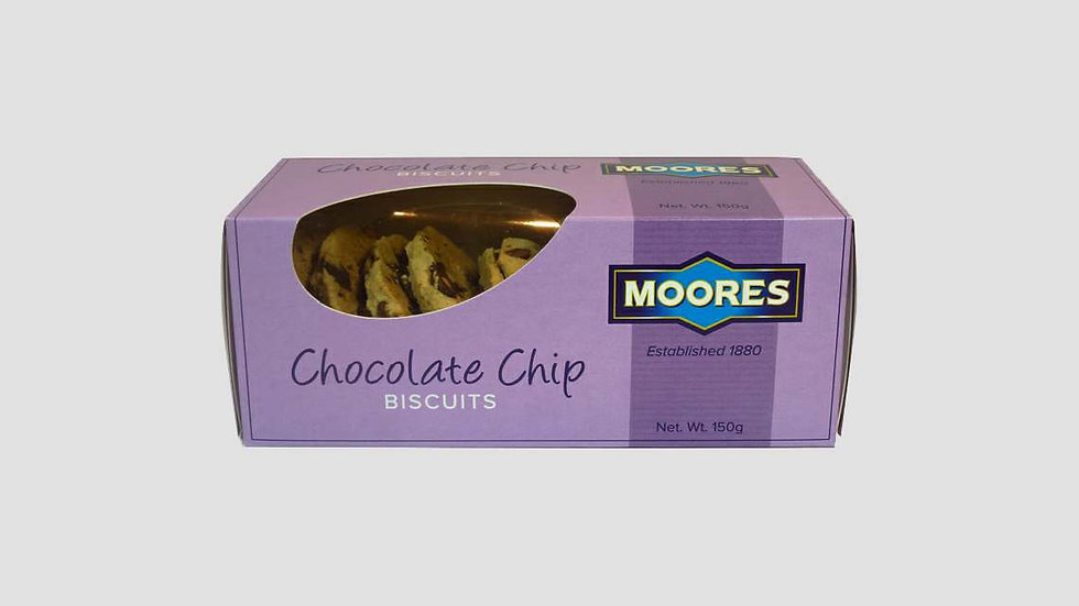Moores Chocolate Chip Biscuits 150g