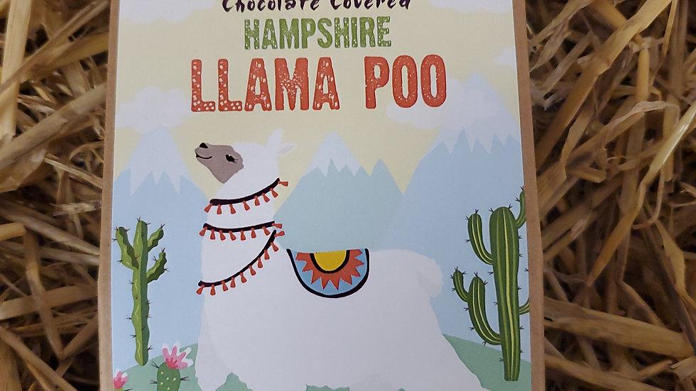 Chocolate Covered Hampshire Llama Poo 100g