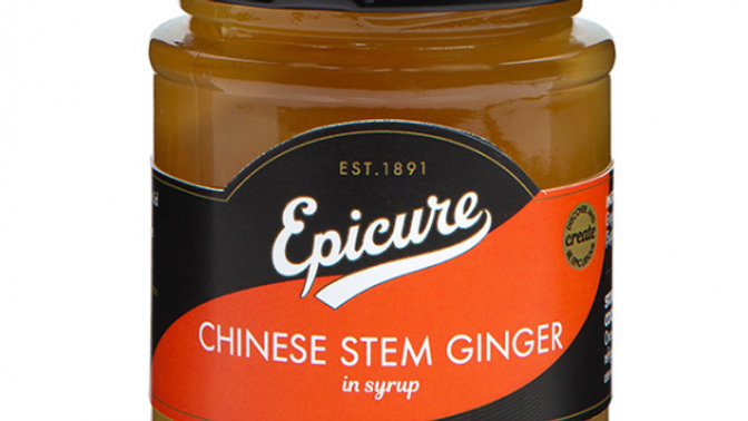 Epicure Chinese Stem Ginger in Syrup 350g