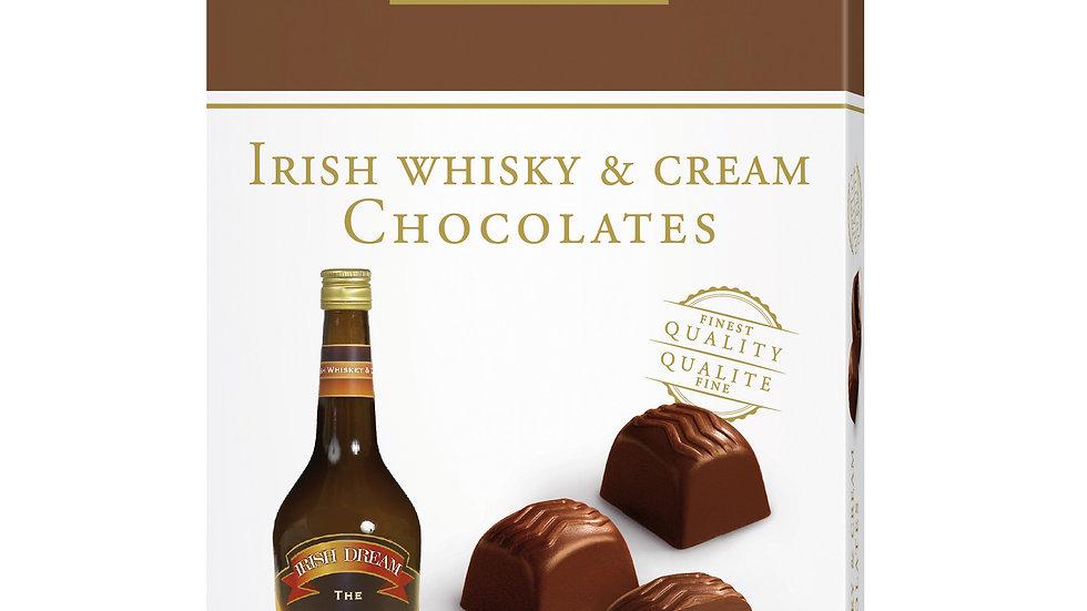 Cupido Belgium Chocolate Irish Whisky & Cream Chocolates 150g