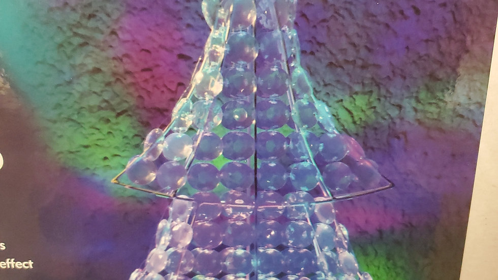 Noma Northern Lights Jewelled Tree 65cm height colour changing leds