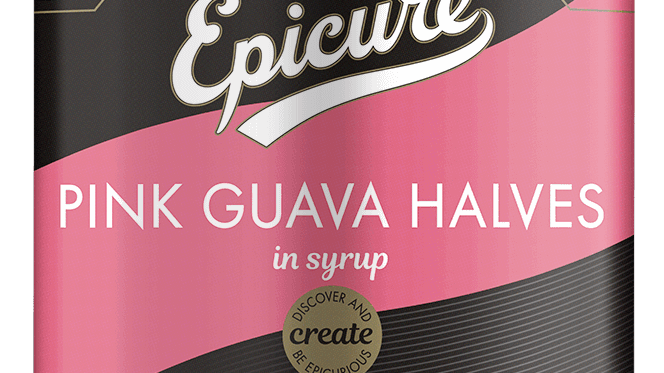 Epicure Pink Guava Halves in Syrup 411g