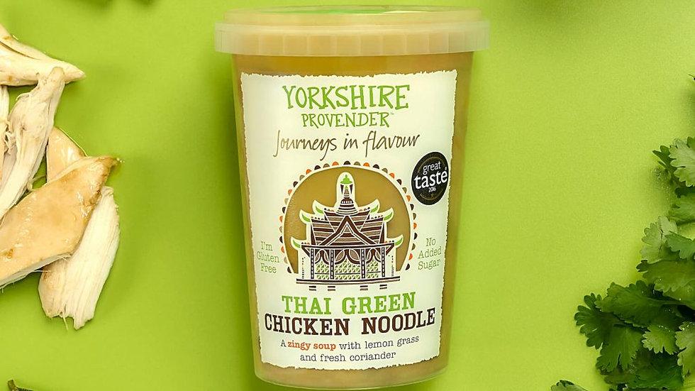 Yorkshire Provender Fresh Soup Thai Green Chicken Noodle 600g
