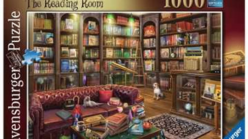 Ravensburger Jigsaw Puzzle 1000 Piece - The Reading Room