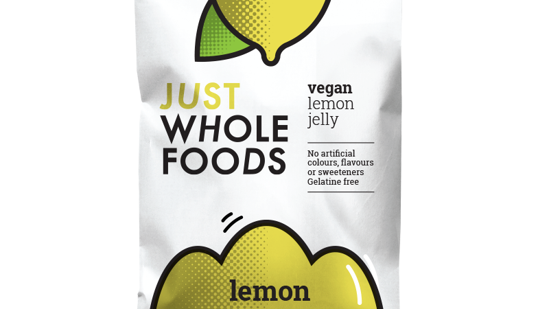 Just Wholefoods Vegan Lemon Jelly Crystals 85g
