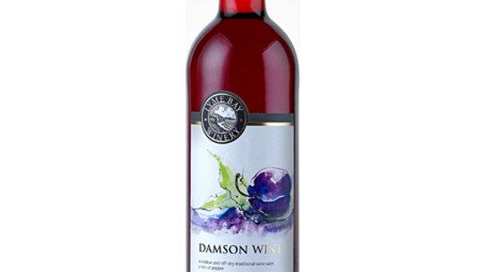 Lyme Bay Winery Damson Wine 11% vol 75cl