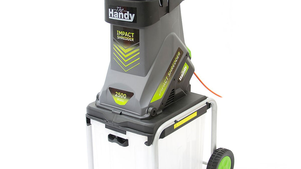 Handy 2500w Electric Shredder with Collector & Hopper THISWB